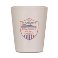 Remember Pearl Harbor Shot Glass