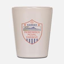 Remember Pearl Harbor Shot Glass