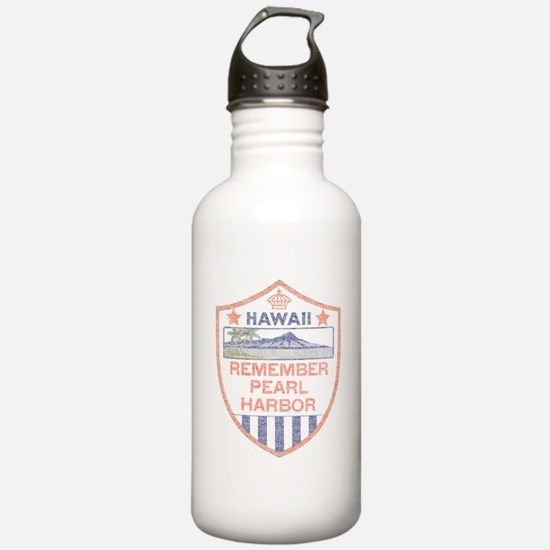 Remember Pearl Harbor Water Bottle