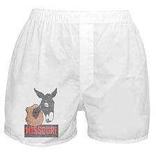 Vintage Missouri Jackass Boxer Shorts