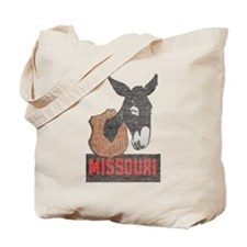 Vintage Missouri Jackass Tote Bag
