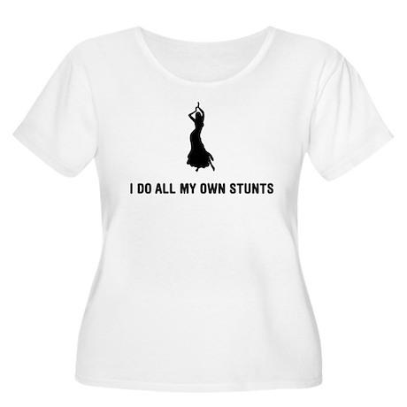 Belly Dancing Women's Plus Size Scoop Neck T-Shirt