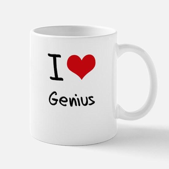 I Love Genius Mug