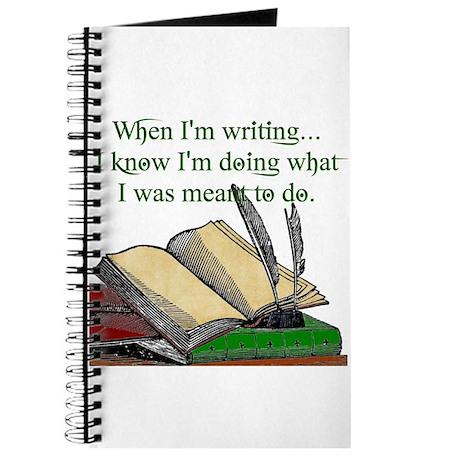 When I write Journal