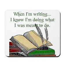 When I write Mousepad