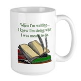 Writer Large Mugs (15 oz)