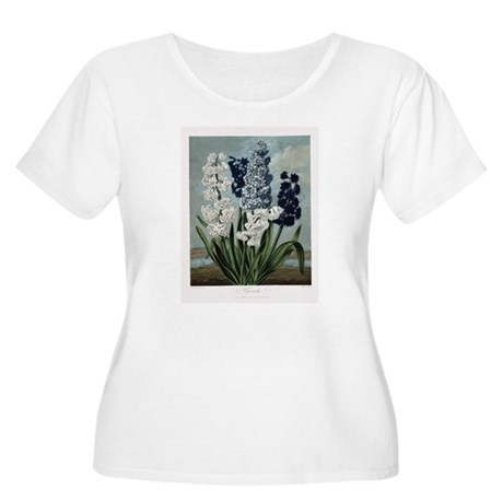 Hyacinth, The Temple of Flora Plus Size T-Shirt