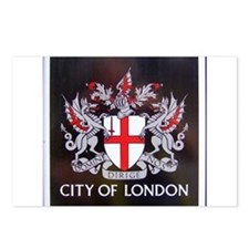 City of London Crest Postcards (Package of 8)