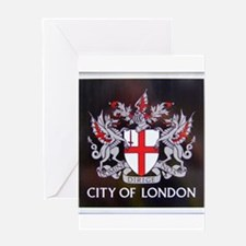 City of London Crest Greeting Card