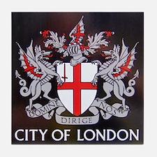City of London Crest Tile Coaster
