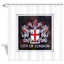 City of London Crest Shower Curtain