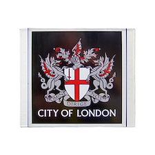 City of London Crest Throw Blanket