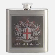 City of London Crest Flask