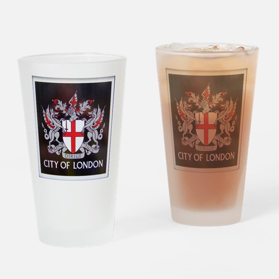 City of London Crest Drinking Glass