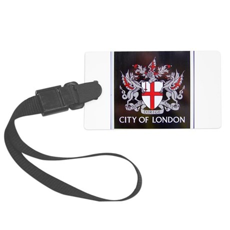 City of London Crest Luggage Tag