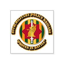 Army - SSI - 89th Military Police Brigade Square S