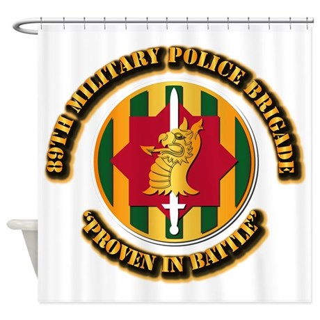 Army - SSI - 89th Military Police Brigade Shower C