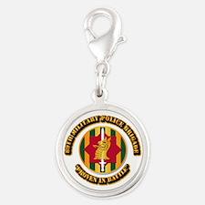 Army - SSI - 89th Military Police Brigade Silver R