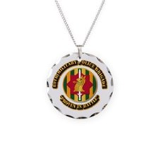Army - SSI - 89th Military Police Brigade Necklace