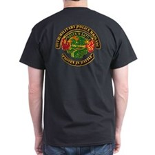 Army - SSI - 89th Military Police Brigade T-Shirt