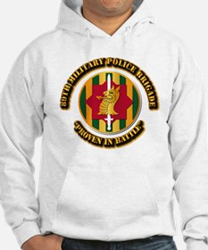 Army - SSI - 89th Military Police Brigade Hoodie
