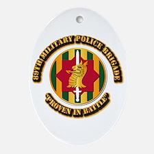 Army - SSI - 89th Military Police Brigade Ornament
