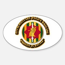Army - SSI - 89th Military Police Brigade Decal