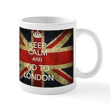 Keep Calm London Small Mug