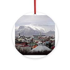 Reykjavik Blues Ornament (Round)