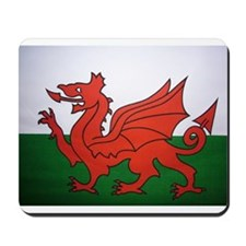 Welsh Flag Mousepad