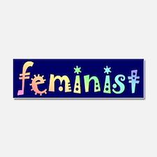 Feminism Car Magnet 10 x 3