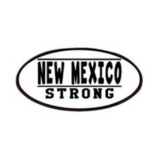 New Mexico Strong Designs Patches