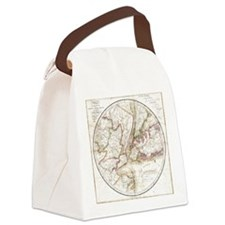 New York 1828 Canvas Lunch Bag