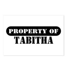 Property of Tabitha Postcards (Package of 8)