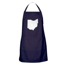 State of Ohio Apron (dark)