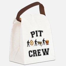 Pit Crew Canvas Lunch Bag