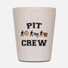 Pit Crew Shot Glass
