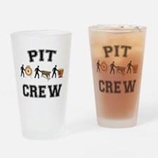 Pit Crew Drinking Glass