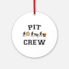 Pit Crew Ornament (Round)
