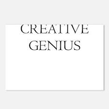 CREATIVE GENIUS Postcards (Package of 8)