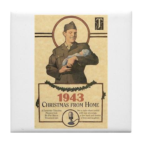 1943 Tile Coaster