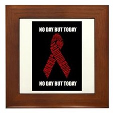 No Day But Today Framed Tile