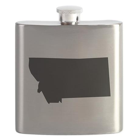 State of Montana Flask