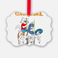 Carousel CAT Ornament
