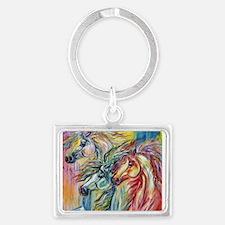 Three Wild horses Keychains