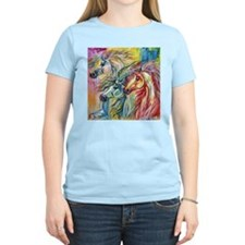 Three Wild horses T-Shirt