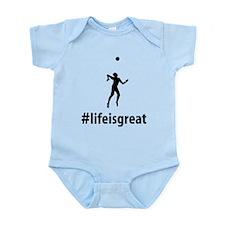Volleyball Infant Bodysuit