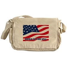 Born in the USA Messenger Bag