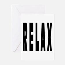 RELAX Greeting Cards (Pk of 10)