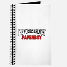 """The World's Greatest Paperboy"" Journal"